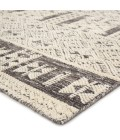 """Jaipur Living Origins Hand-Knotted Tribal Ivory/ Gray Area Rug (8 10""""X13 )"""