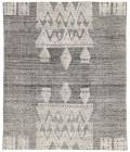 Jaipur Living Torsby Hand-Knotted Geometric Black/ Ivory Runner Rug (3 X10 )