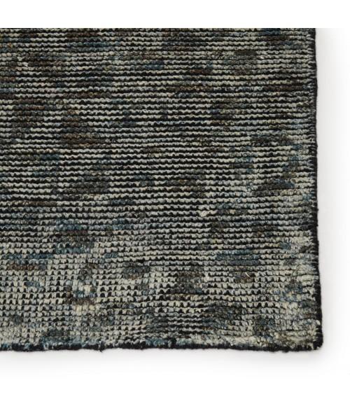 Jaipur Living Zaid Hand-Knotted Geometric Gray/ Black Area Rug (10 X14 )