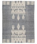 """Jaipur Living Torsby Hand-Knotted Tribal Blue/ Ivory Area Rug (8 10""""X11 9"""")"""