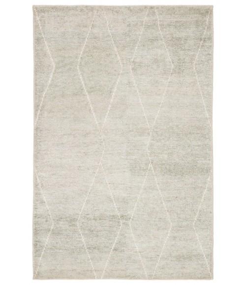 Jaipur Living Ozog Handmade Geometric Light Blue/ Ivory Area Rug (9 X13 )