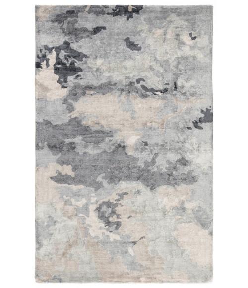 Jaipur Living Glacier Handmade Abstract Gray/ Dark Blue Area Rug (2 X3 )