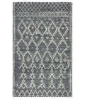 "Jaipur Living Zola Hand-Knotted Trellis Blue/ Ivory Area Rug (8 10""X11 9"")"