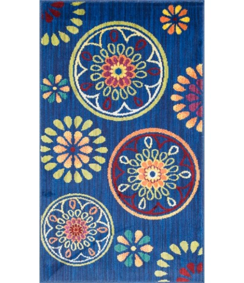 Loloi Isabelle HIS08-Blue-Multi-22x39 Rug