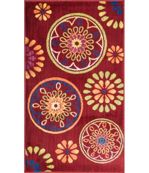 Loloi Isabelle HIS08-Red-Multi-22x39 Rug