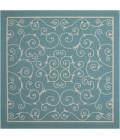 Nourison Home & Garden Square Area Rug RS019-Light Blue