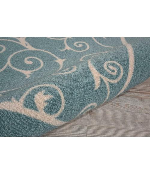 Nourison Home & Garden Area Rug RS019-Light Blue