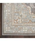 Kathy Ireland Grand Villa Area Rug KI80-Silver Grey