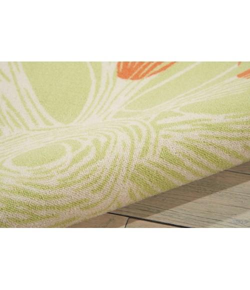 Nourison Home & Garden Area Rug RS022-Ivory