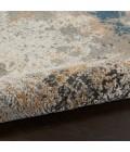 Nourison Rustic Textures Area Rug RUS13-Grey/Blue