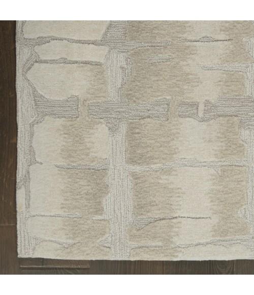 Nourison Symmetry Area Rug SMM04-Ivory/Beige