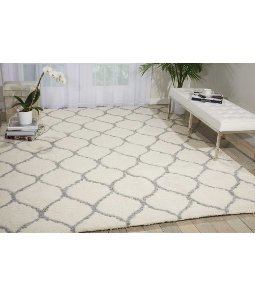 Nourison Galway Area Rug GLW08-Ivory/Ash
