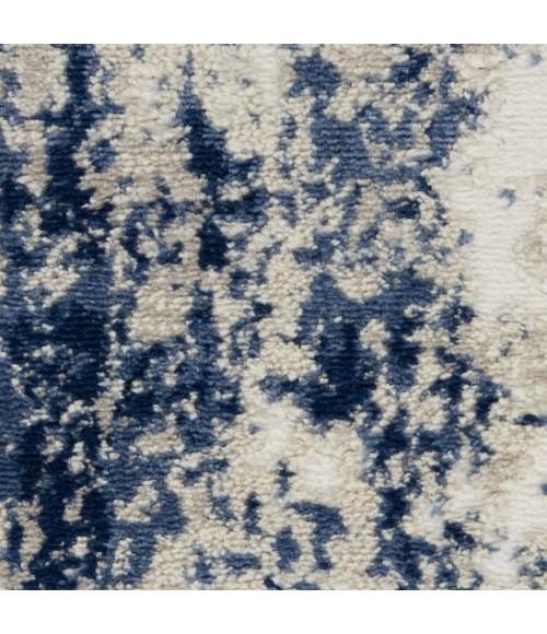 Nourison Cyrus Area Rug CYR03-Ivory/Navy