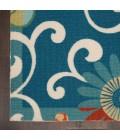 Waverly Sun N' Shade Runner Area Rug SND84-Blue/Multicolor
