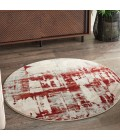 Nourison Maxell Area Rug MAE14-Ivory/Red
