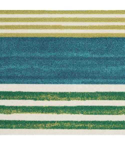 Waverly Sun N' Shade Area Rug SND71-Green/Teal