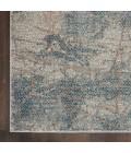 Nourison Rustic Textures Area Rug RUS15-Light Grey/Blue