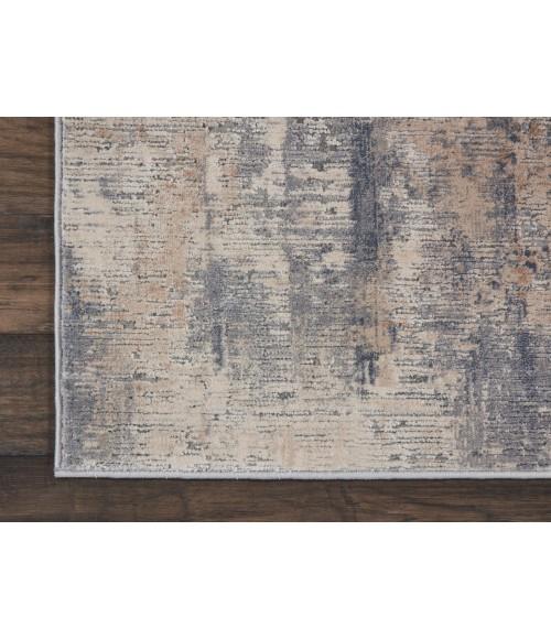 Nourison Rustic Textures Runner Area Rug RUS05-Beige/Grey