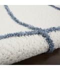 Nourison Feather Soft Area Rug FEA02-Ivory Blue