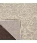 kathy ireland Home Sahara Runner Area Rug KI390-Ivory/Silver