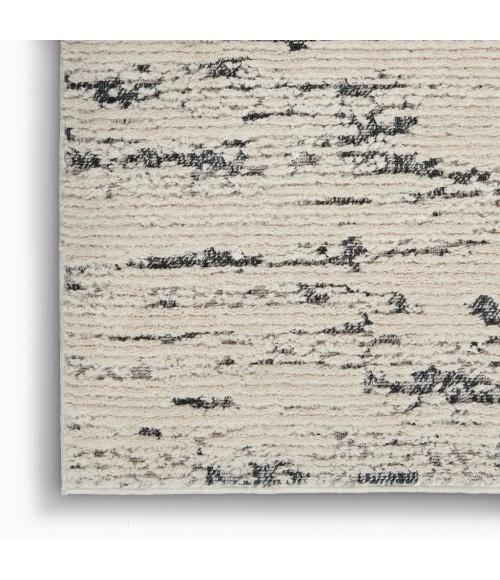 Nourison Textured Contemporary Area Rug TEC03-Ivory Blue