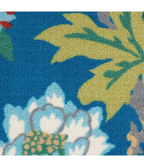Waverly Sun N' Shade Area Rug SND82-Blue/Multicolor