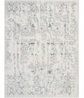 kathy ireland Home Silver Screen Area Rug KI343-Ivory/Teal
