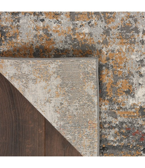 Nourison Ludlow Runner Area Rug LDW03-Grey/Multi