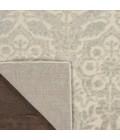 kathy ireland Home Sahara Area Rug KI390-Ivory/Silver