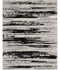 Nourison Textured Contemporary Area Rug TEC02-Ivory/Charcoal