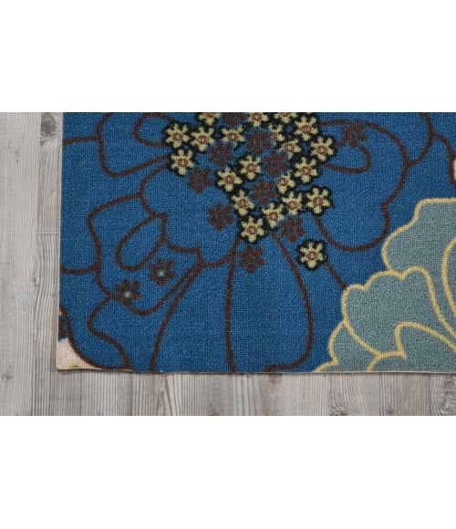 Nourison Home & Garden Area Rug RS021-Light Blue