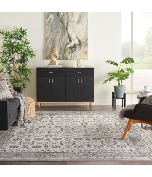 Kathy Ireland Grand Villa Area Rug KI83-Grey
