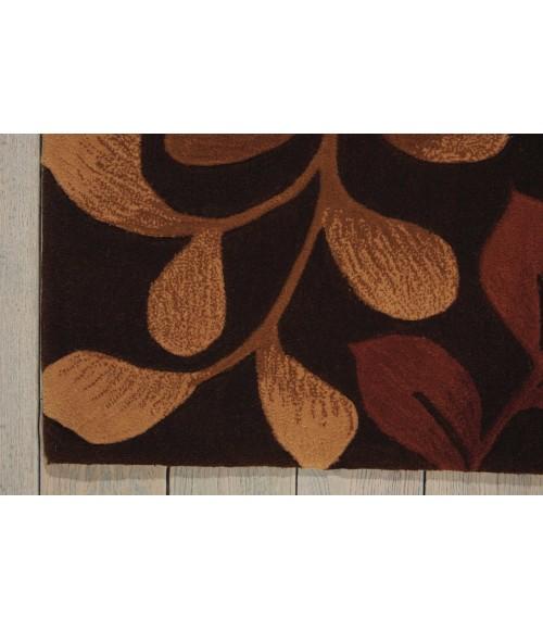 Nourison Contour Area Rug CON02-Chocolate