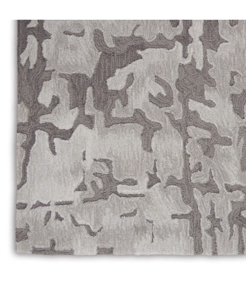 Nourison Symmetry Area Rug SMM03-Ivory/Taupe