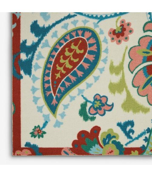 Waverly Sun N' Shade Area Rug SND73-Ivory