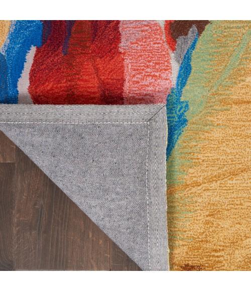Nourison Symmetry Area Rug SMM11-Multicolor