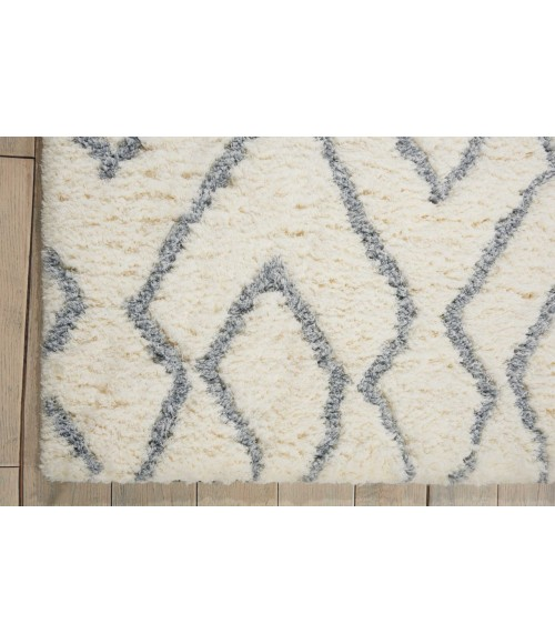 Nourison Galway Area Rug GLW03-Ivory/Blue