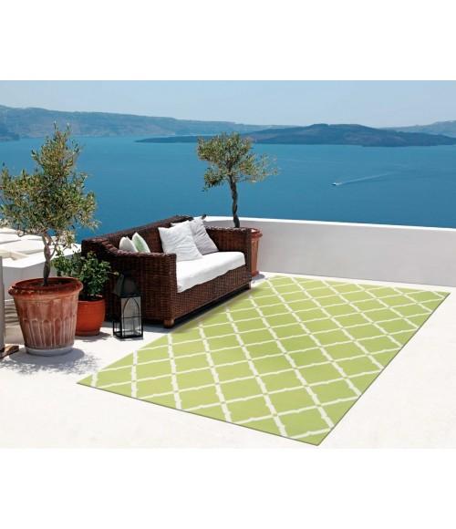 Nourison Home & Garden Area Rug RS091-Light Green