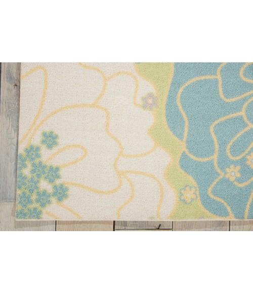 Nourison Home & Garden Area Rug RS021-Green