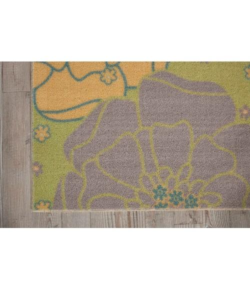 Nourison Home & Garden Runner Area Rug RS021-Green