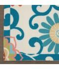 Waverly Sun N' Shade Runner Area Rug SND84-Ivory/Multi
