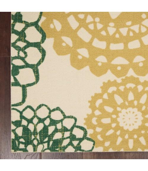 Waverly Sun N' Shade Area Rug SND72-Ivory Gold
