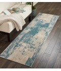 Nourison Maxell Runner Area Rug MAE13-Ivory/Teal