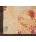 Nourison Home & Garden Runner Area Rug RS022-Ivory