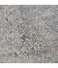 Nourison Rustic Textures Runner Area Rug RUS09-Ivory/Light Blue