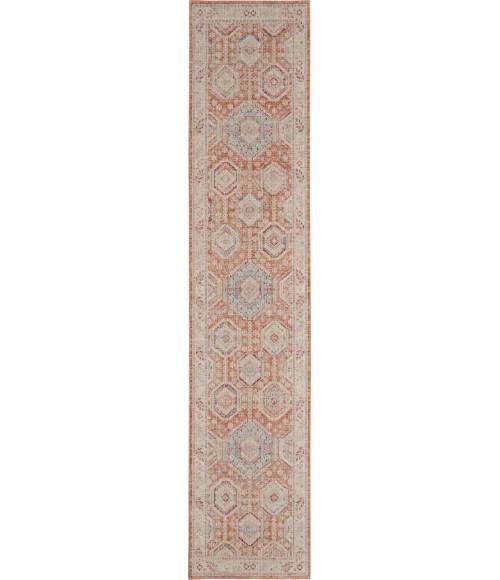 Nourison Enchanting Home Runner Area Rug ENH01-Brick