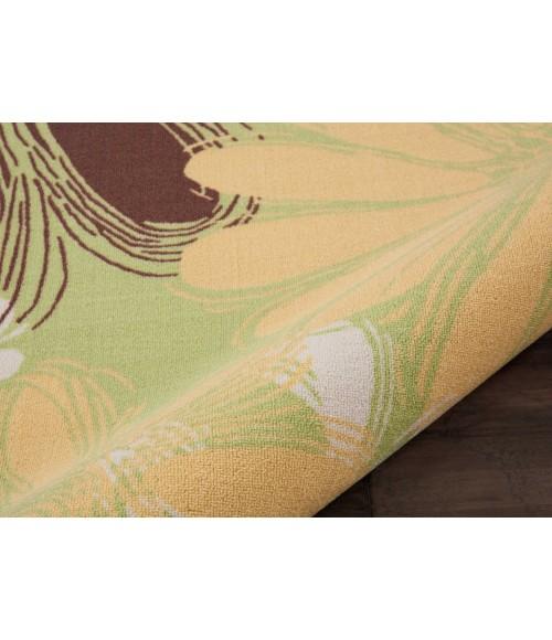Nourison Home & Garden Runner Area Rug RS022-Green