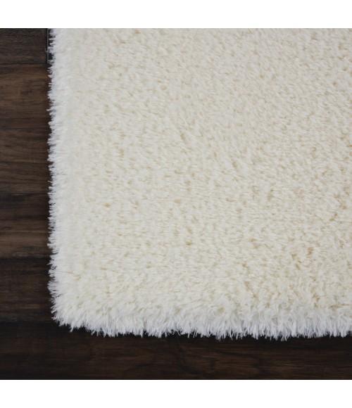Nourison Ultra Plush Shag Area Rug ULP01-Ivory